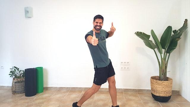 Sa. 11:00 Baile deportivo | 50 min | Muévete con Andrés Braganza
