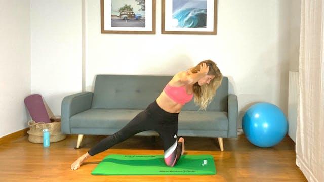 Pilates para fortalecer | 50 min | Pi...