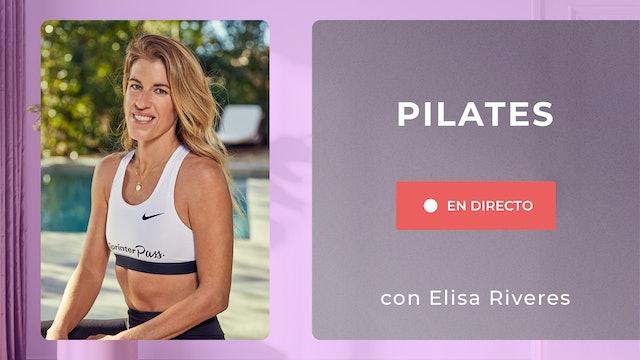 Lu. 18:00 Pilates: abdomen fuerte y plano | 50 min | Con Elisa Riveres