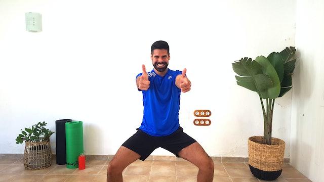 Baile deportivo | 50 min | Entrena en casa con Andrés Braganza