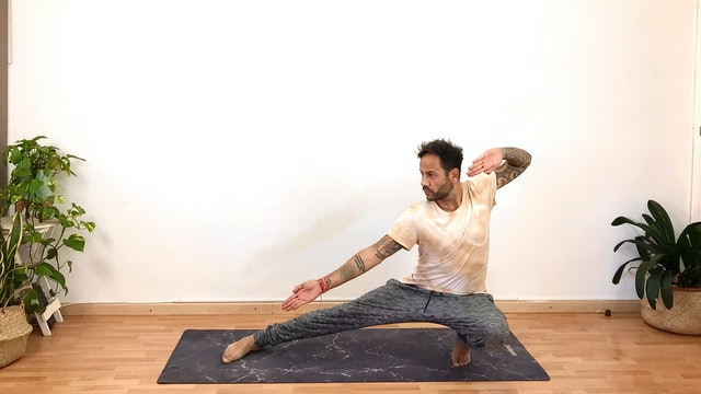 Lu. 14:00 Clase de Virayoga | 60 min | Yoga con Arjuna