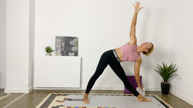 Yoga | 60 min | Yoga en casa con Olga...
