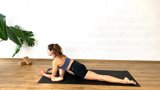 Yoga en casa | 60 min | Clase de yoga con Irene Alda