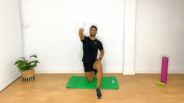 Entrenamiento abdominal | 50 min | Ej...