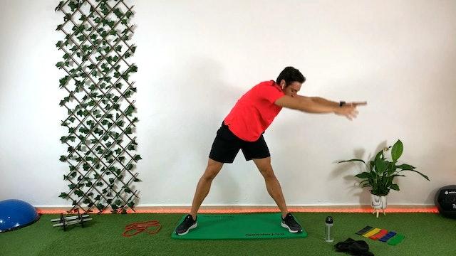 Training piernas-abdomen | 50 min | Entrenamiento con Kuuuxy