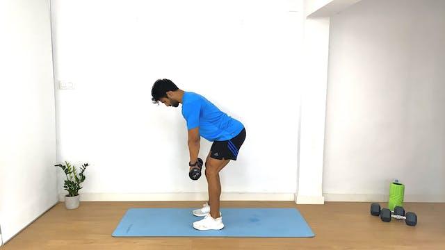 Día 15: Circuito de piernas y glúteos...