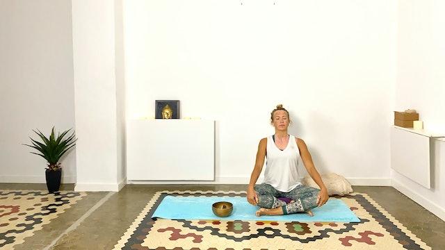 Yoga para espalda | 60 min | Clase de yoga con Olga Brú