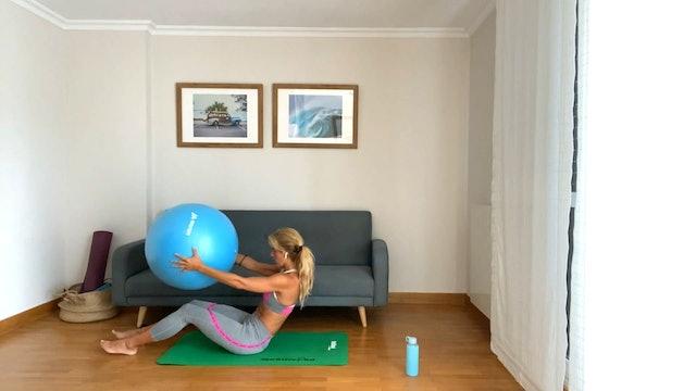 Clase de Pilates | 50 min | En casa con Elisa Riveres