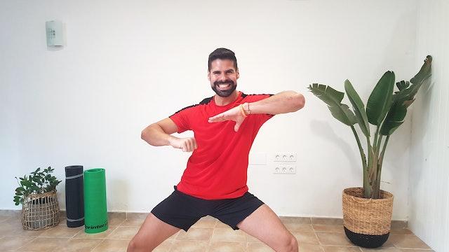 Ma. 20:00 Baile deportivo | 50 min | Ejercicio con Andrés Braganza