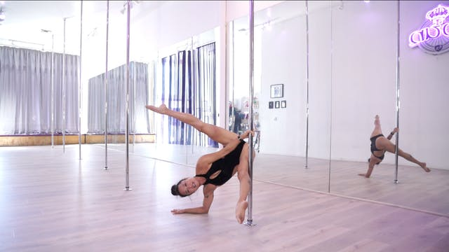 Natasha Pole Handstands
