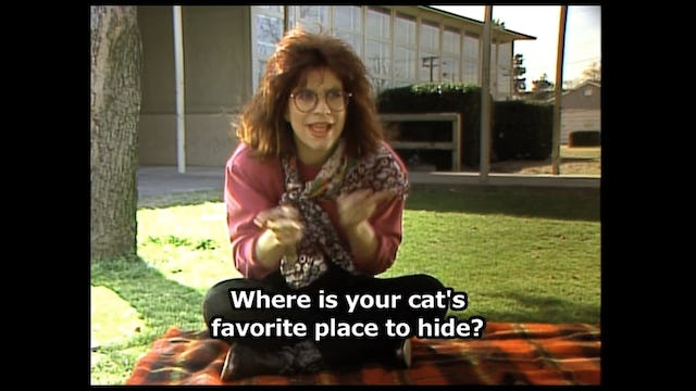 Hear, Kitty Kitty ( Children and their pets.)