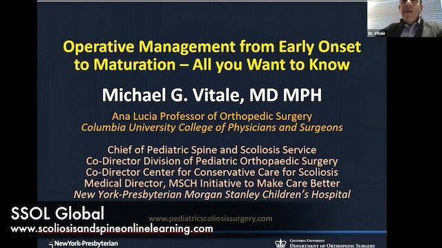 Scoliosis Operative Mgmt - SSOL Webinar Dr. Vitale