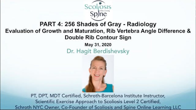 Webinar Part 4: Radiology for Scoliosis