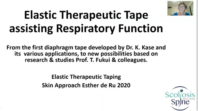 Taping for Pulmonary Dysfunction by E. de Ru,  PT