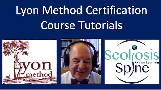 Lyon Method Certification Course Tutorials