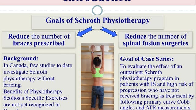 Idiopathic Scoliosis Case Series by Andrea Lebel, M.Sc. Pt