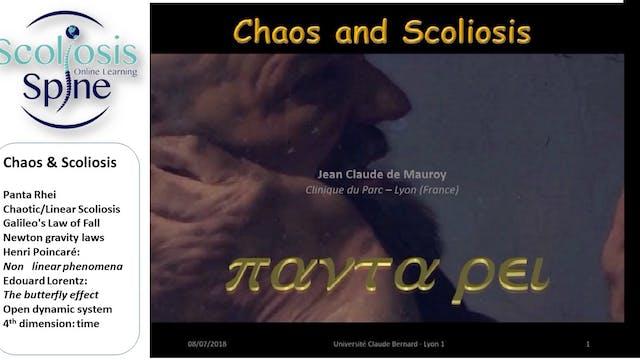 Chaos & Scoliosis by Dr. Jean-Claude de Mauroy