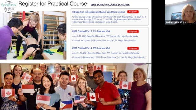 SSOL Intro Course: Scoliosis & Spinal Conditions