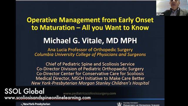 Webinar Scoliosis Operative Mgmt. - Dr. M. Vitale Dec 2019