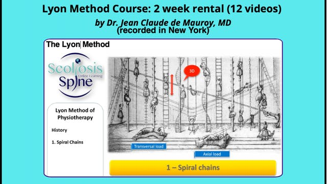 Lyon Method NYC Course (2 week rental) by Dr. JCD