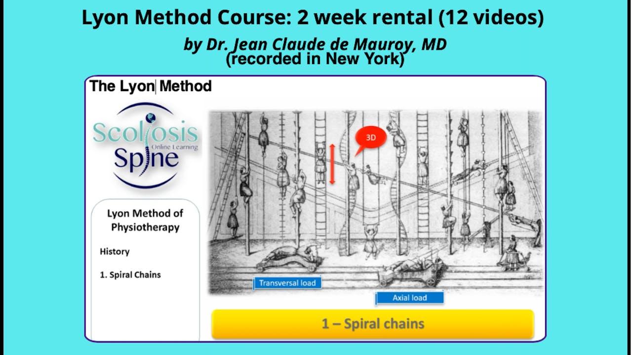 Lyon Method NYC Course (4 week rental) by Dr. JCD
