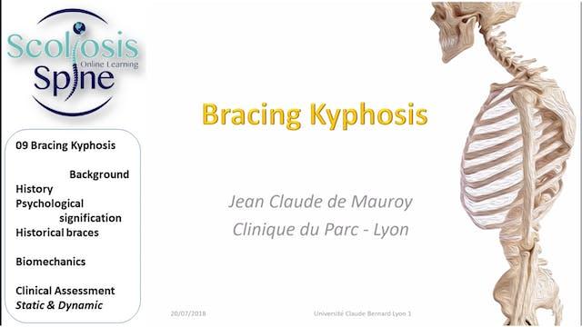 Bracing Kyphosis by Dr. Jean-Claude de Mauroy