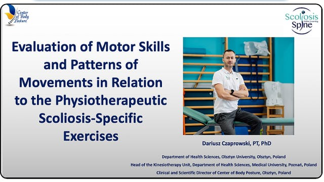 Evaluation of Motor Skills in Relation to PSSE