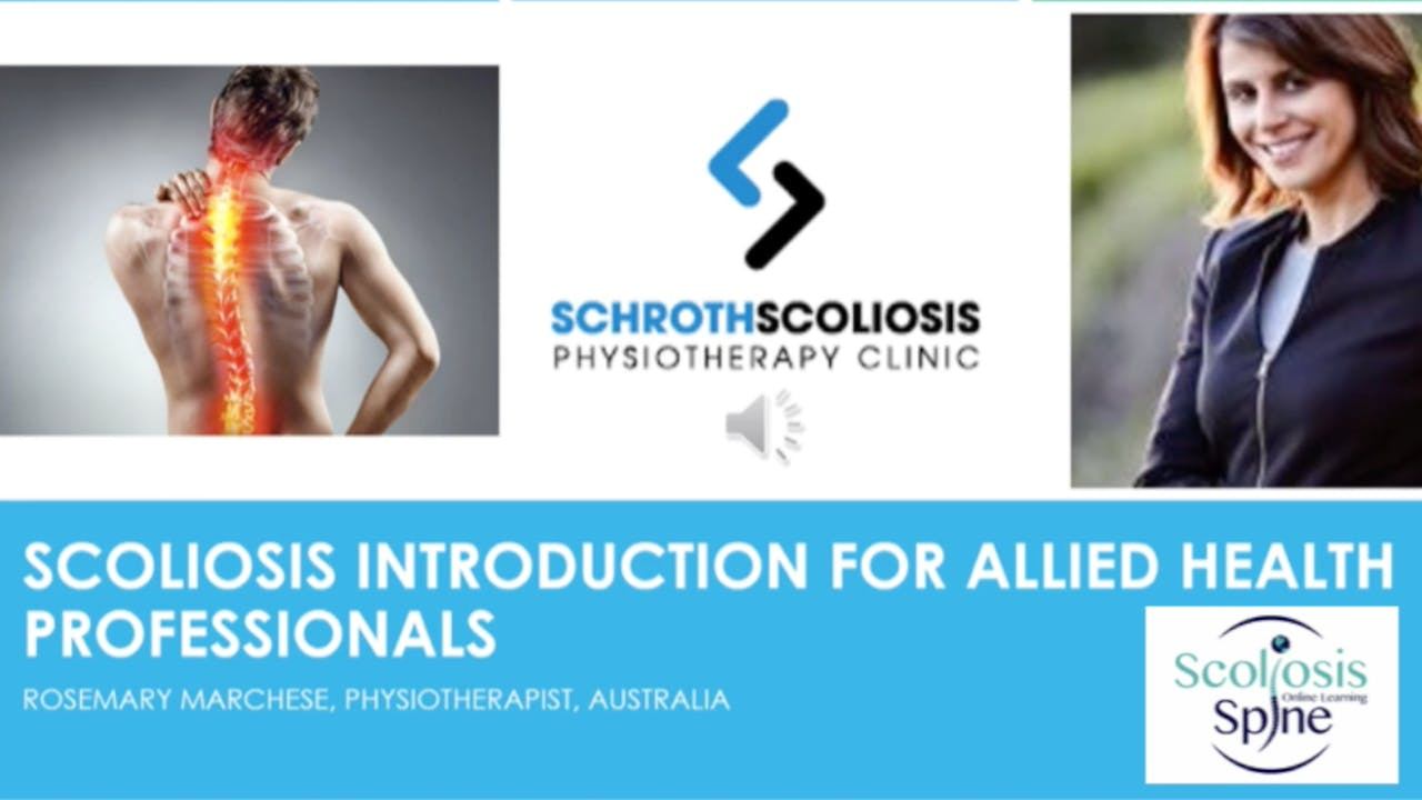 Introduction to Scoliosis for Health Professionals