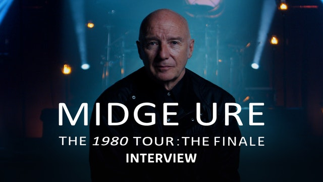 Midge Ure   The 1980 Tour: The Finale   Mini Doc