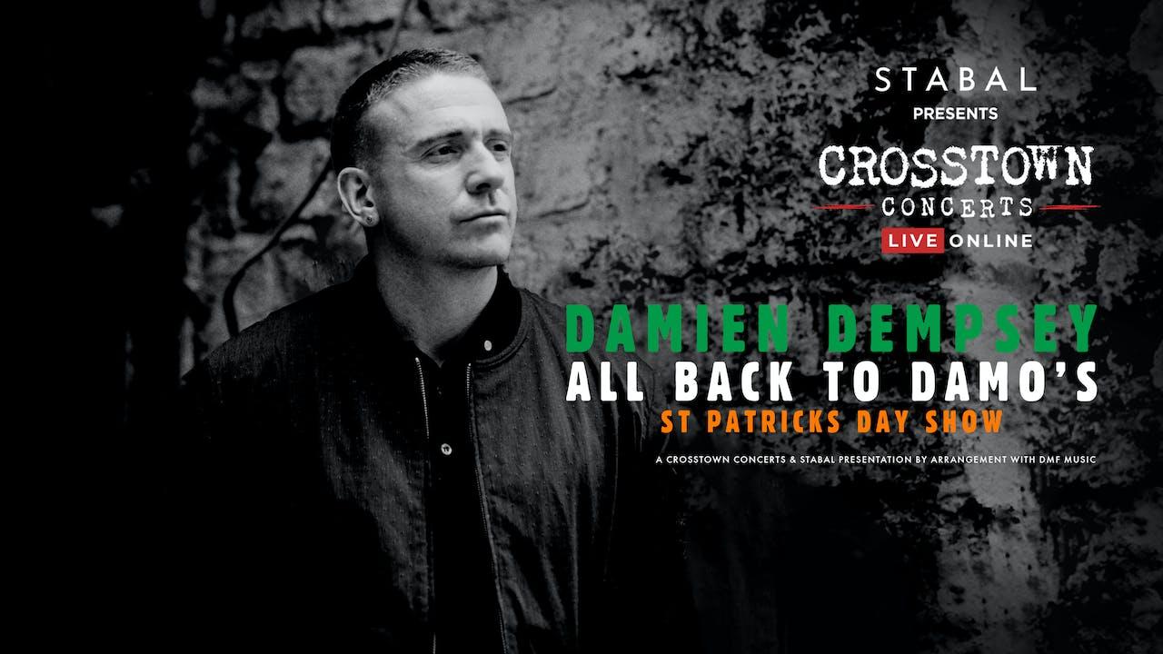 Damien Dempsey St Patricks - Live Online Deluxe