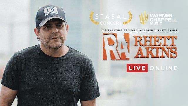 Stabal Presents: Rhett Akins - Live Online
