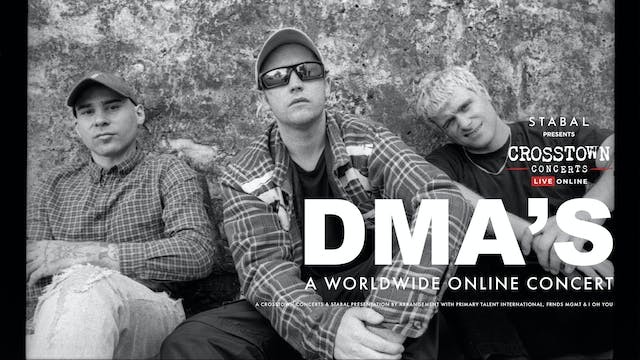 Stabal Presents: The DMAs - Live Online (AED)