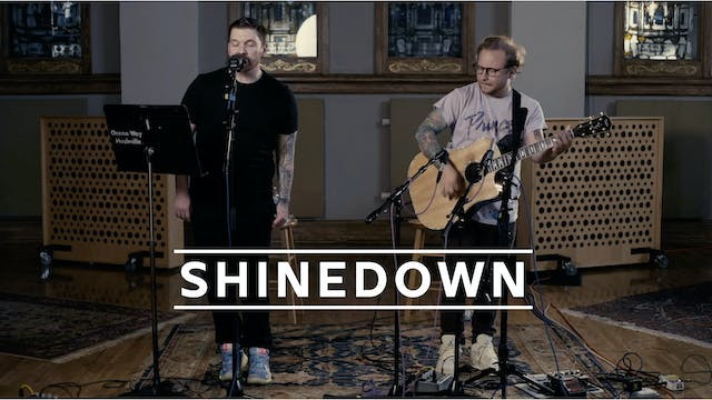 Shinedown - Recorded Live for Tunies ...