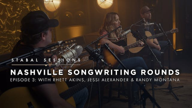 Songwriter Round Ep.3 - Live at Stabal Nashville