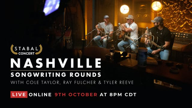 Nashville Songwriting Round #1 - Live Online Deluxe