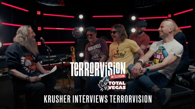 Terrorvision | On Television | Interview with Krusher