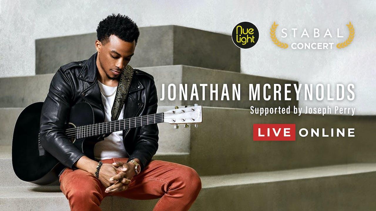 JONATHAN MCREYNOLDS - LIVE ONLINE