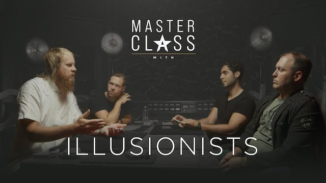 Stabal Masterclass with Illusionists