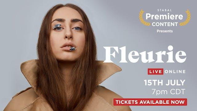 FLEURIE - LIVE ONLINE