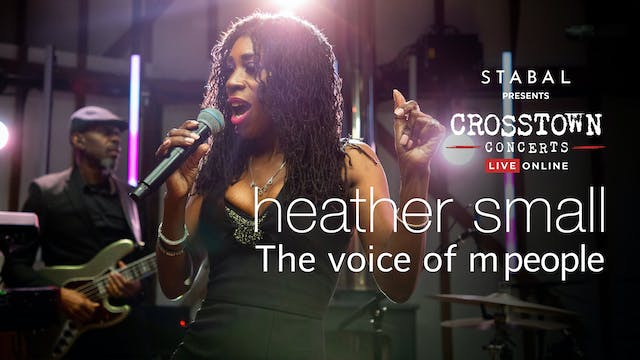 Stabal Presents: Heather Small - Live Online