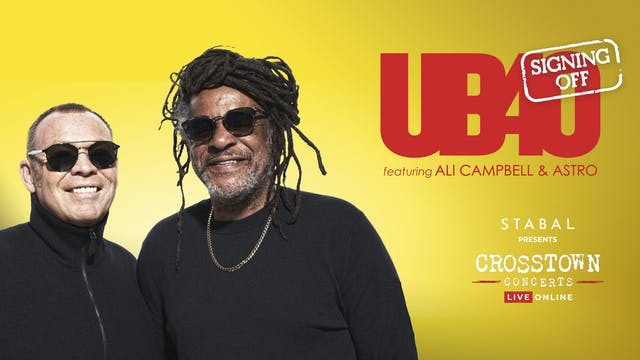 Stabal Presents: UB40 - Live Online