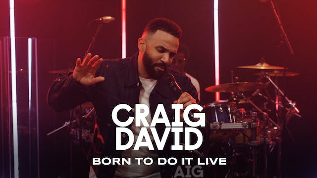 Craig David - Born To Do It - Live at Stabal