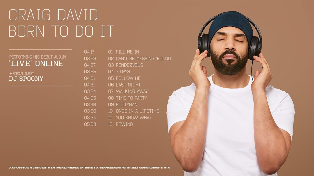 Craig David - Live Online Deluxe