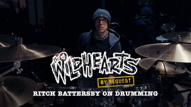 Stabal Talk - Ritch Battersby on Drum...