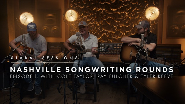 Nashville Songwriting Round Ep.1 - Live at Stabal Nashville