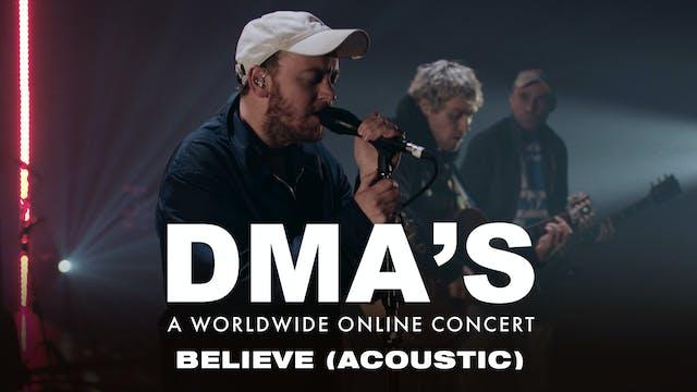 DMA'S - Believe (acoustic)