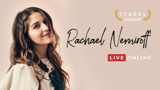 Stabal Presents: Rachael Nemiroff Live Online