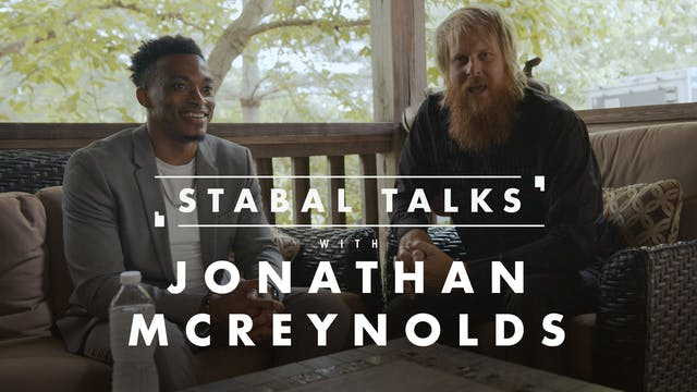 Stabal Talk - Jonathan McReynolds