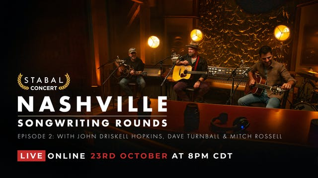 NASHVILLE SONGWRITING ROUND #2 - LIVE DELUXE