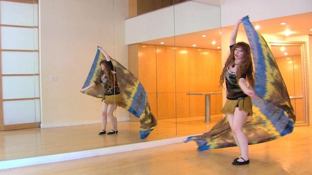 The RiverVeil Belly Dance Course - Class 4